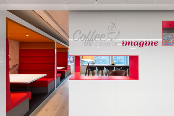 PwC Basel by Evolution Design | Office facilities