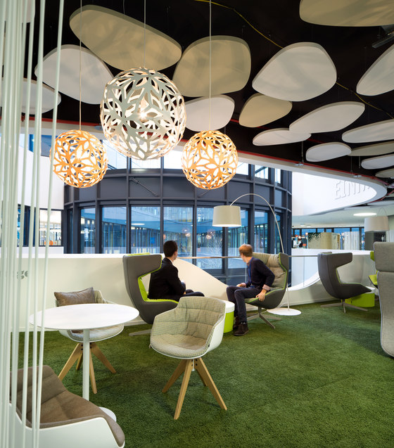TeamBank Headquarters by Evolution Design   Office facilities