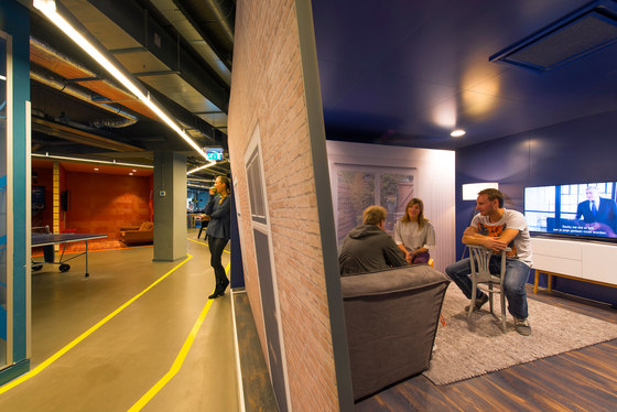 VodafoneZiggo by Evolution Design | Office facilities