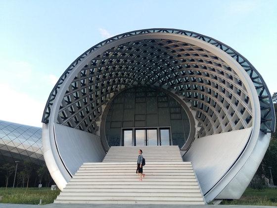 Rhike Park, Music Theatre and Exhibition Hall by Studio Fuksas   Concert halls