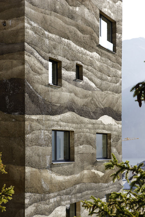 Wohnüberbauung Giardin by Mierta & Kurt Lazzarini Architekten   Detached houses