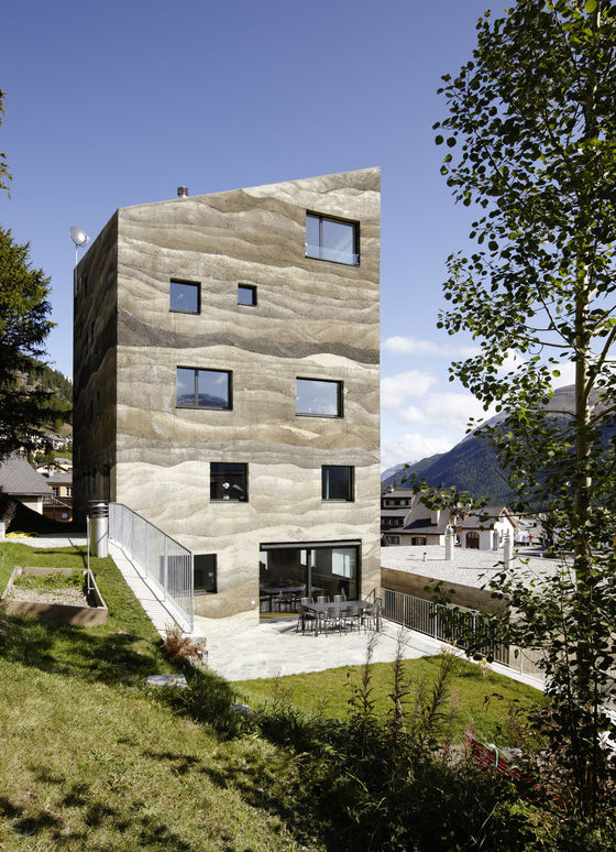 Wohnüberbauung Giardin by Mierta & Kurt Lazzarini Architekten | Detached houses