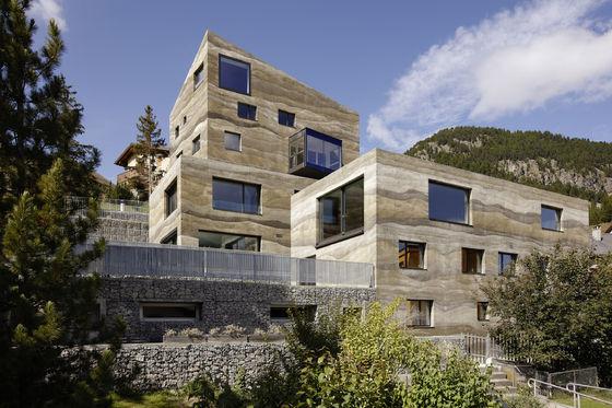 Wohnüberbauung Giardin von Mierta & Kurt Lazzarini Architekten | Einfamilienhäuser