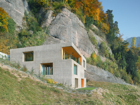 Huse holiday house, Vitznau by alp Architektur Lischer Partner | Detached houses