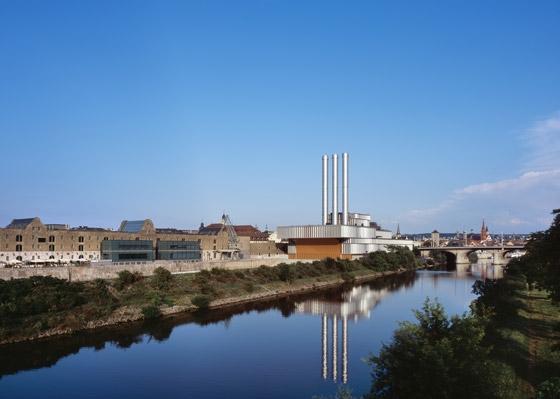 Erweiterung des Heizkraftwerkes di Brückner & Brückner Architekten | Industie edilizie