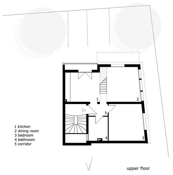 Symbiont Friedrich by FloSundK architektur+urbanistik | Detached houses