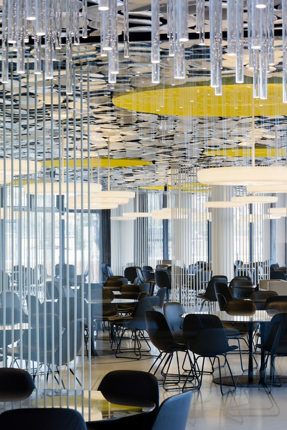 Der SPIEGEL canteen de Ippolito Fleitz Group | Oficinas