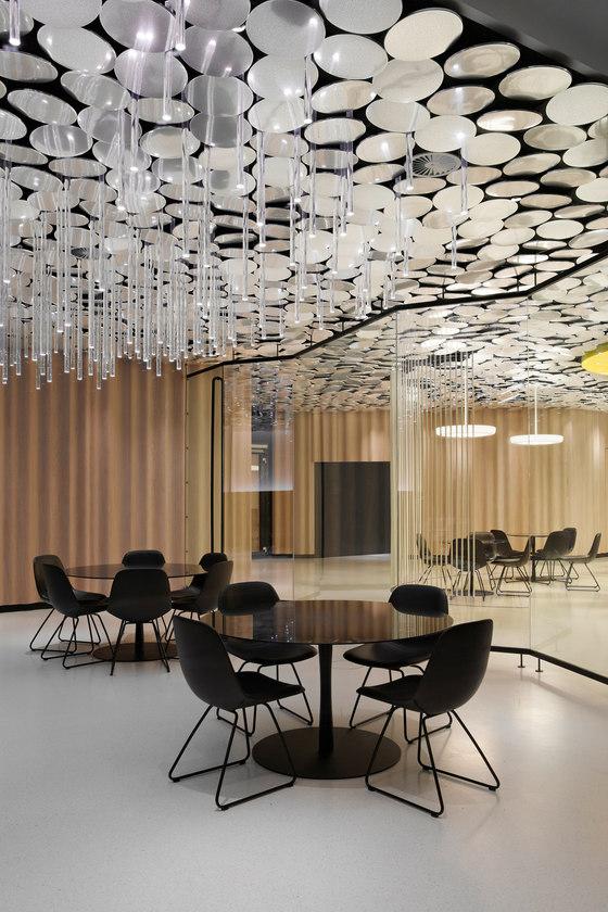 Der SPIEGEL Kantine von Ippolito Fleitz Group | Büroräume
