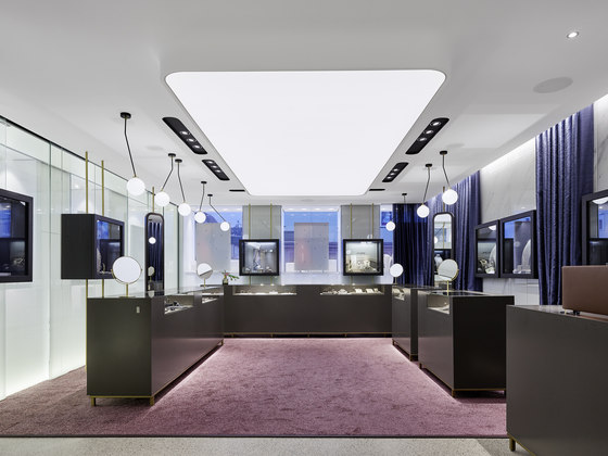 Hunke – Jewellers and Opticians by Ippolito Fleitz Group | Shop interiors