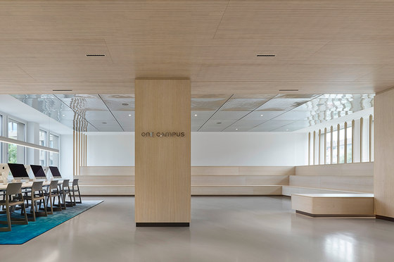 Motel One Head Office and One University by Ippolito Fleitz Group | Office facilities