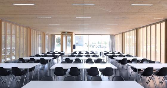 MGF Architekten GmbH-Hochschule für Technik und Wirtschaft, Neubau einer Cafeteria auf dem Burren