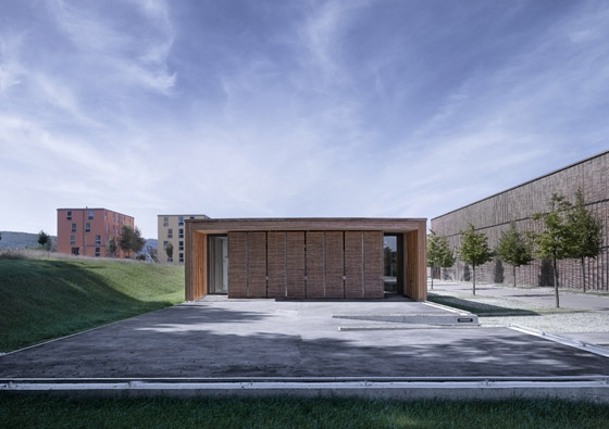 Hochschule f r technik und wirtschaft neubau einer cafeteria auf dem burren by mgf architekten - Mgf architekten ...