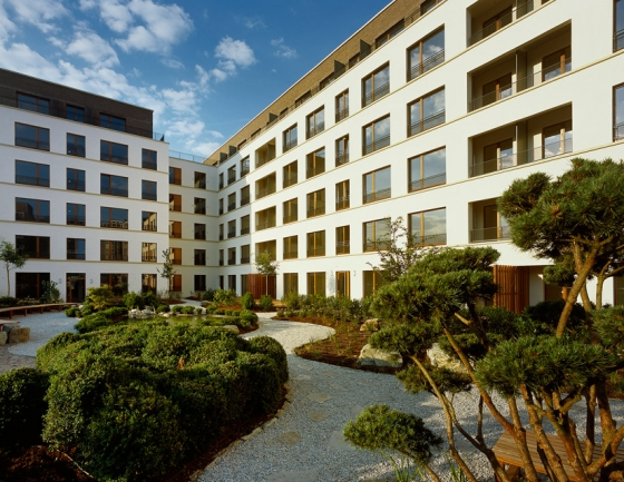 westgarten 01 by stefan forster architekten apartment blocks. Black Bedroom Furniture Sets. Home Design Ideas