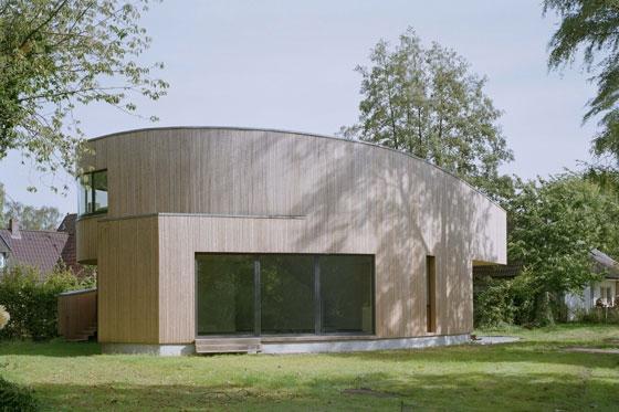 Schreibhaus am Steinhuder Meer de Holger Kleine Architekten | Casas Unifamiliares