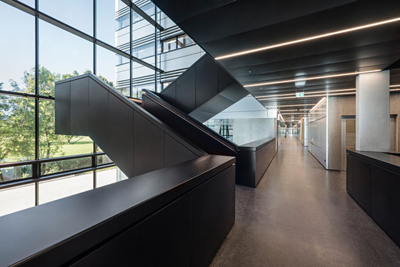 Doppelmayr Headquarters by AllesWirdGut Architektur | Office buildings