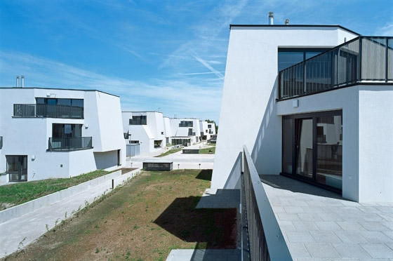 Heustadelgasse Housing Development by Pichler & Traupmann | Semi-detached houses