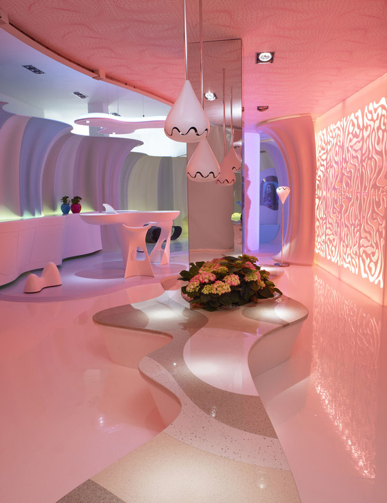 Smart Ologic Corian Living By Karim Rashid