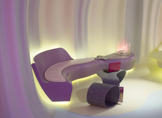 Smart-ologic Corian® Living by Karim Rashid | Showrooms
