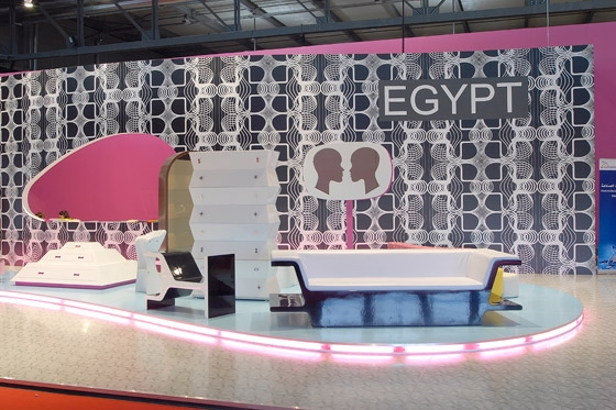 Salone del Mobile 'EGYPT' by Karim Rashid | Prototypes