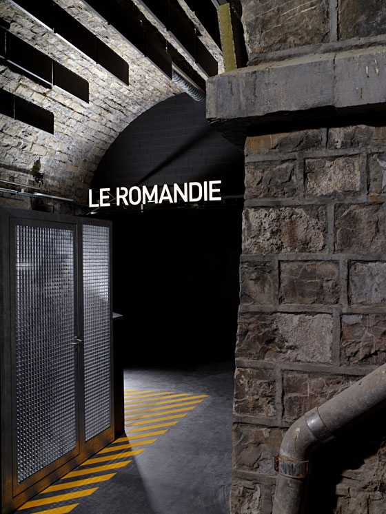 Le Romandie by BIG-GAME | Club interiors