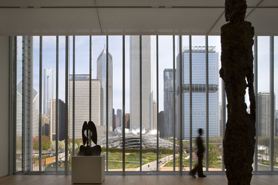 Art Institute of Chicago - The Modern Wing von Renzo Piano Building Workshop | Museen