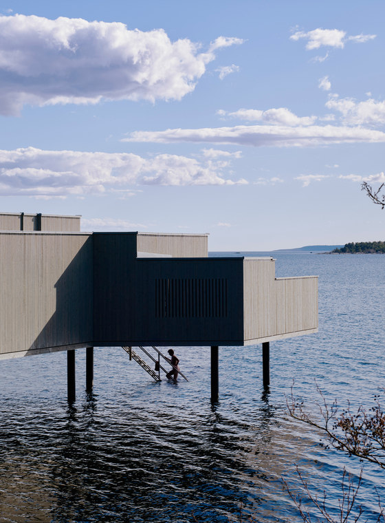 Karlshamn Cold Bath House by White Arkitekter | Therapy centres / spas