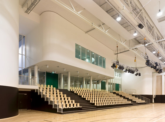 Birkerød Sports and Leisure Centre von schmidt hammer lassen | Sporthallen