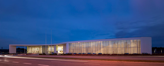 Birkerød Sports and Leisure Centre by Schmidt Hammer Lassen Architects | Sports halls