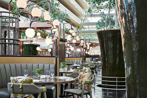 RISE Restaurant at Marina Bay Sands by Aedas | Hotel interiors