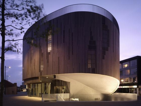 (stads)paviljoen roosendaal von René van Zuuk Architekten   Denkmäler/Skulpturen/Aussichtsplattformen