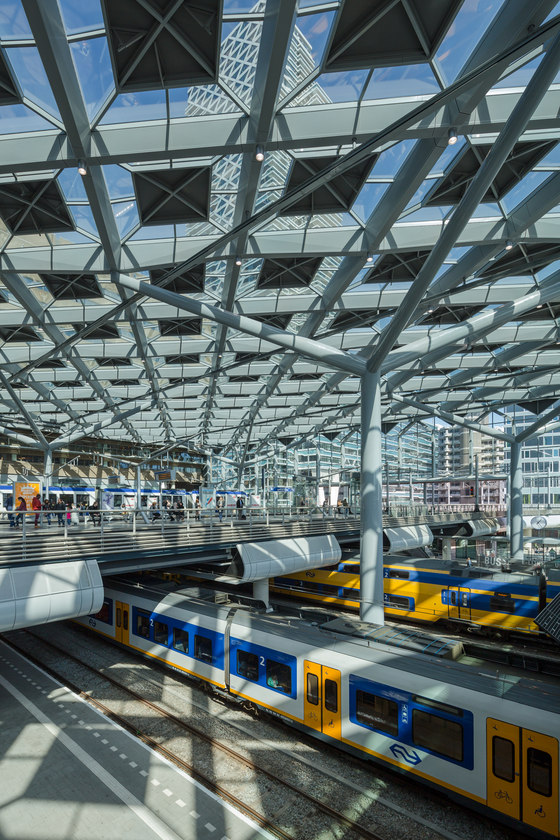 The Hague Central Station by Benthem Crouwel Architects | Infrastructure buildings
