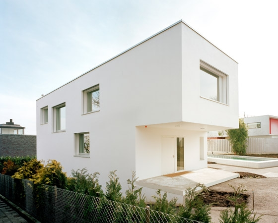 A house for art by Luca Selva Architekt | Detached houses
