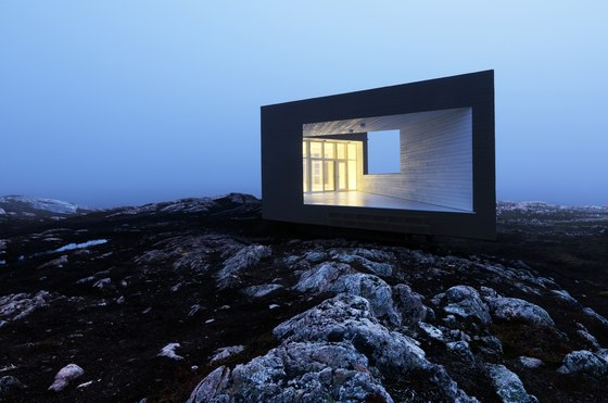 Fogo Island Artists Studios (The Long Studio) by Saunders Architecture | Detached houses