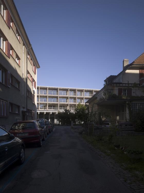 Rolf Mühlethaler Architekt BSA SIA-Wylerpark