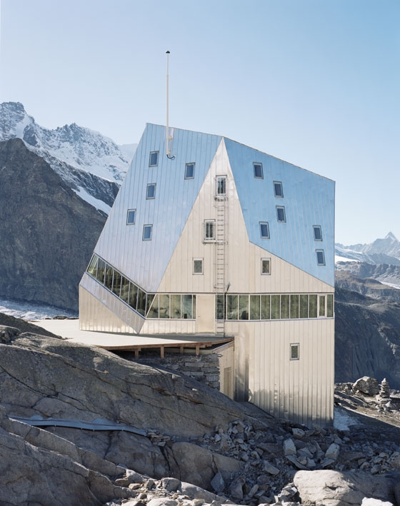 Neue Monte Rosa-Hütte by Bearth & Deplazes Architekten | Hotels