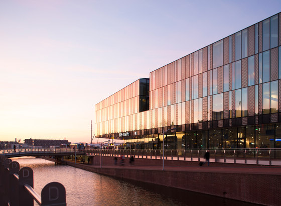 Delft City Hall and Train Station by Mecanoo | Infrastructure buildings