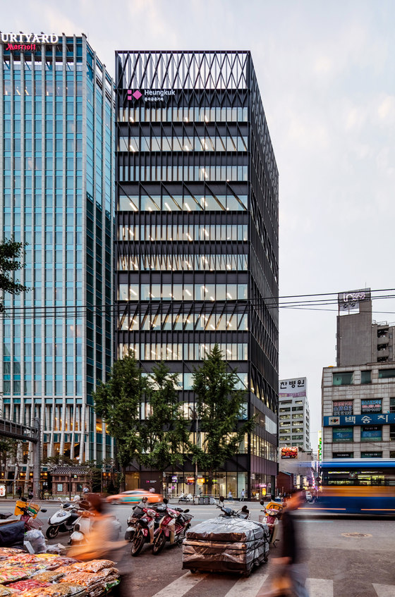 Namdeamun Office Building by Mecanoo | Office buildings