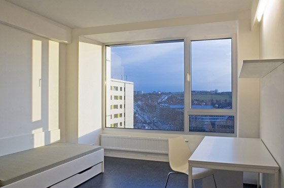 Renovation of Student Residence in Hochschulstrasse by knerer und lang | Apartment blocks