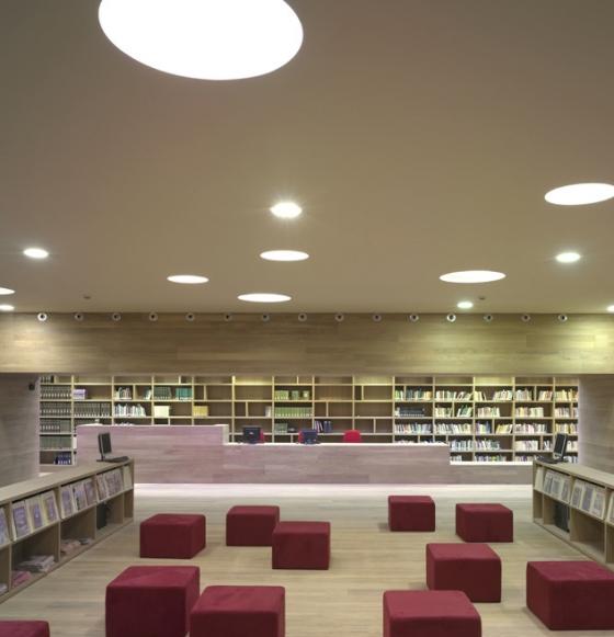 Nembro Public Library and Auditorium by Archea Associati | Universities