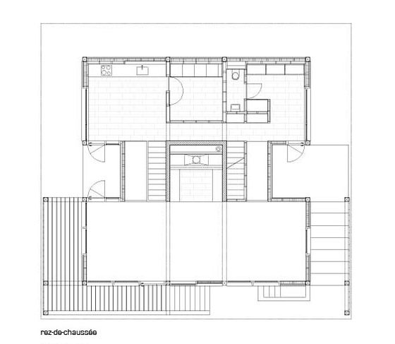 Chalet de vacances by Charles Pictet Architecte | Detached houses