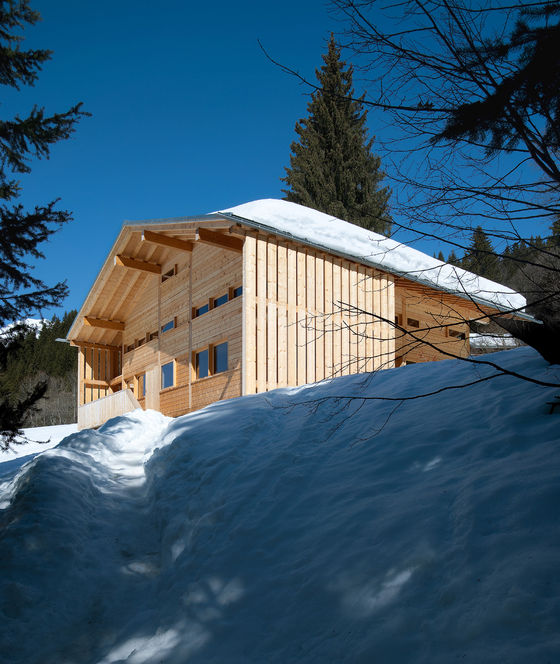 Charles Pictet Architecte-Chalet de vacances