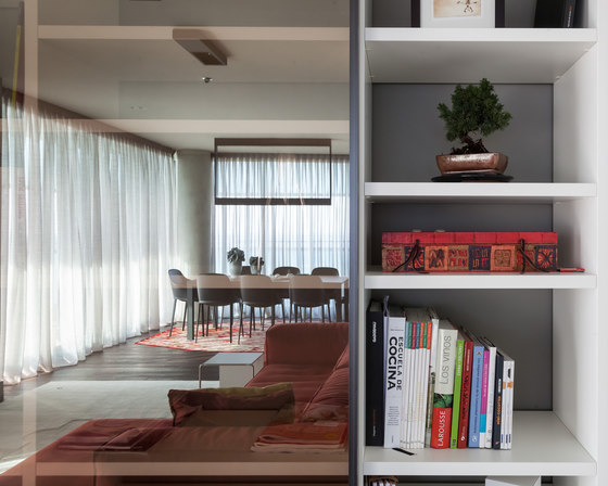 Apartment - Showroom Barcelona de NU Architectuur | Pièces d'habitation