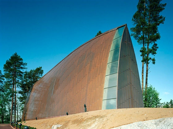 St. Henry's Ecumenical Art Chapel by Sanaksenaho Architects | Church architecture / community centres