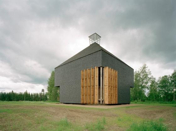 Kärsämäki Shingle Church by Lassila Hirvilammi Architects | Church architecture / community centres