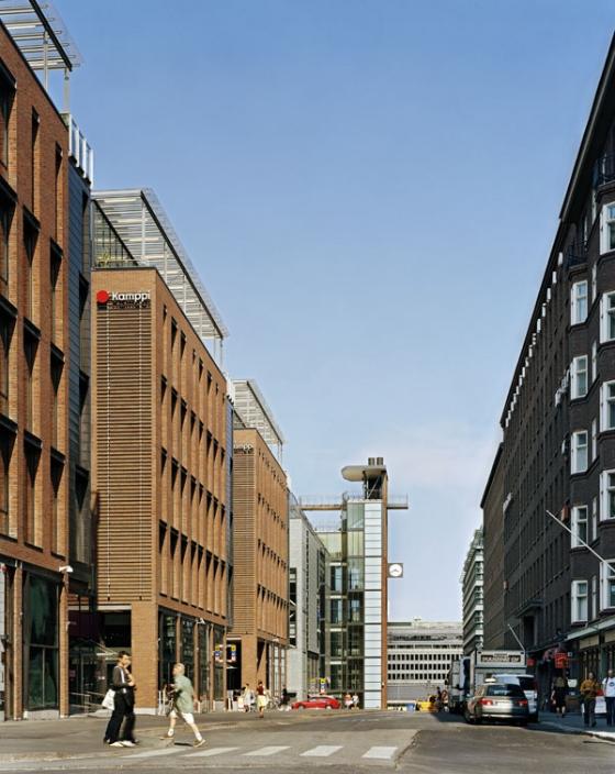 Kamppi Centre de Helin & Co Architects | Centres commercial