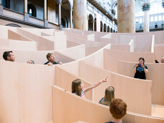 Maze At The National Building Museum by BIG / Bjarke Ingels Group | Installations