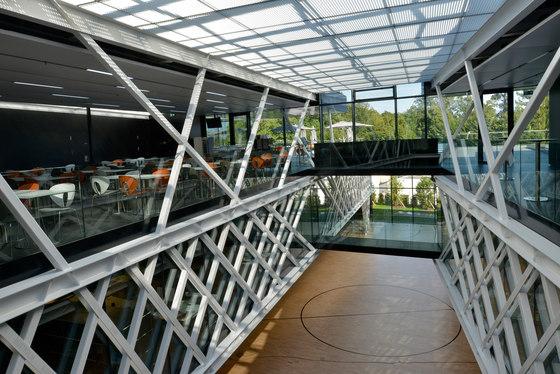 FIBA Headquarters von Luscher Architectes SA | Sports halls
