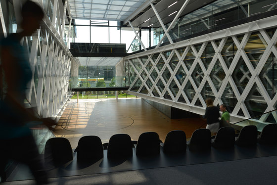 FIBA Headquarters von Luscher Architectes SA | Sporthallen