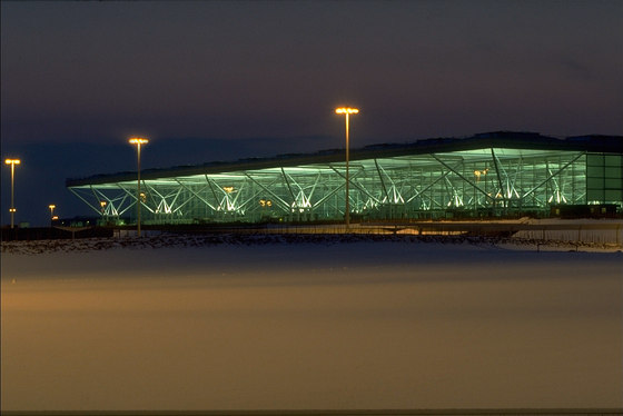 Stansted Airport By Foster Partners