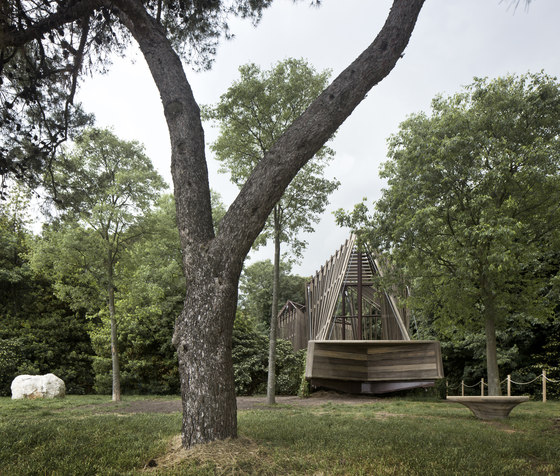 """Sanctuary"" Chapel for Vatican Pavilion at the 2018 Venice Biennale by Foster + Partners 